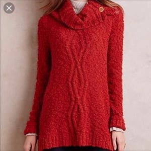 Anthropologie Moth Knubby Knit Sweater SizeS